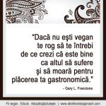 Daca nu esti vegan