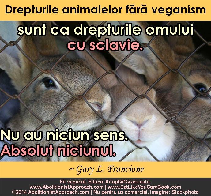 Drepturile animalelor fără veganism
